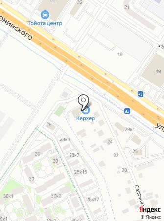 Империал на карте