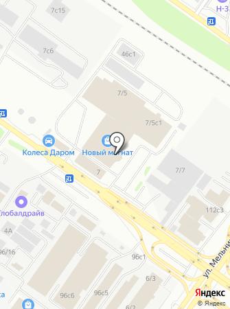MONARCH на карте
