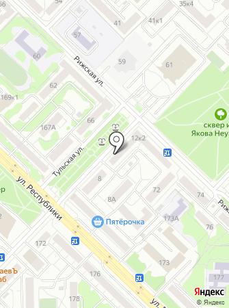Эвалар на карте