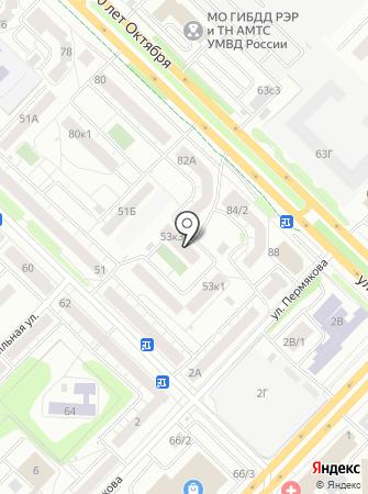 На Энергетиков, ТСЖ на карте