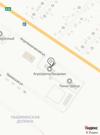 АгроЦентрЗахарово на карте