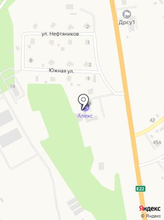 ALEX на карте