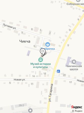 Чикчинский сельский музей истории и культуры Тюменского района на карте