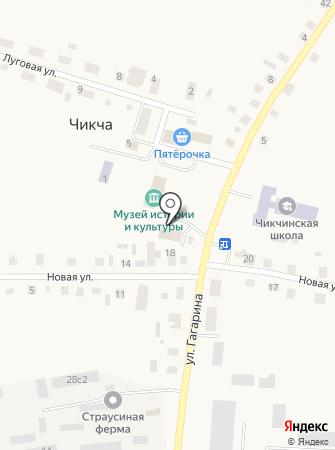 Администрация Чикчинского муниципального образования Тюменского района Тюменской области на карте