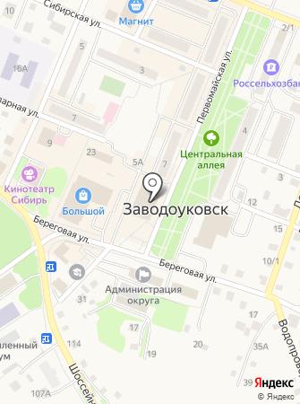Заводоуковский межрайонный следственный отдел на карте