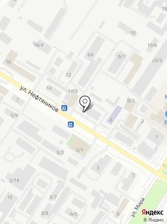 Омский государственный технический университет на карте