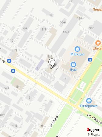 Fitness-life на карте