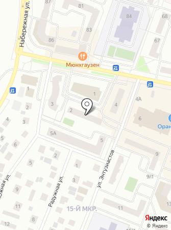 Экосервис на карте