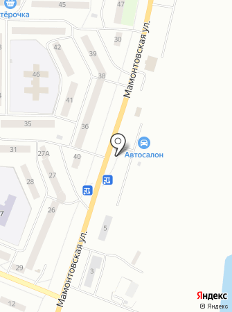 Автостоянка на ул. 13-й микрорайон на карте