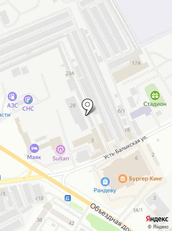 Upsolute на карте
