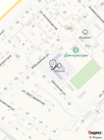 Дубовская общеобразовательная средняя школа на карте