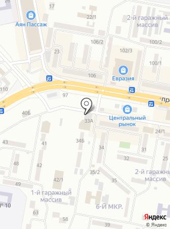 Нур-ра на карте
