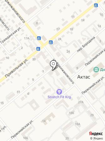 Магазин взрослой и детской одежды на карте