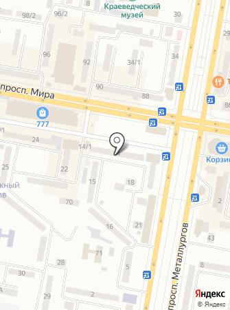 Народный KZ, ТОО на карте