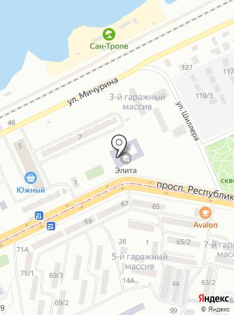 Гимназия №1 г. Темиртау на карте