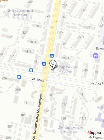 TopStroyPlast, ТОО на карте