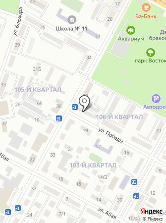 Магнитка на карте
