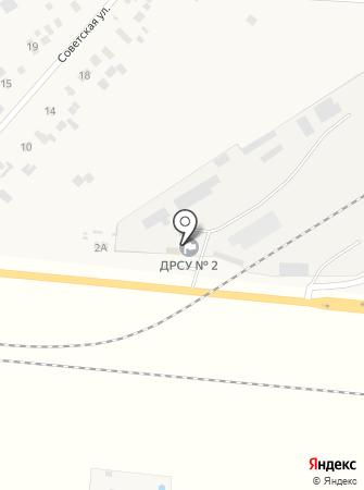 ДРСУ №2, ГП на карте
