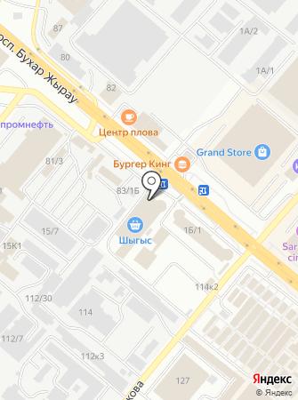 Qazaq Banki на карте