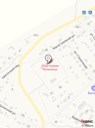 Горячеключевская участковая больница на карте