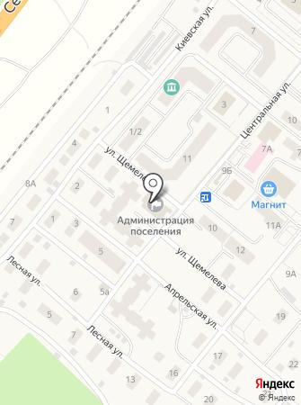 Администрация городского поселения Барсово на карте