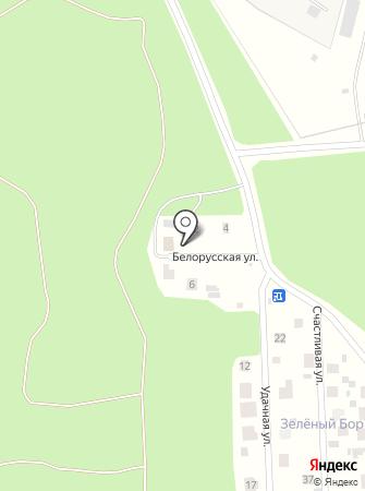 Барские баньки на карте