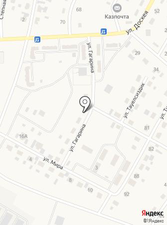 Камилла на карте