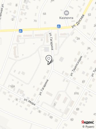 Калима на карте