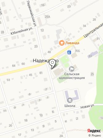 Надеждинский на карте