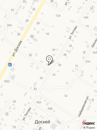 Доскейская модельная библиотека-клуб на карте