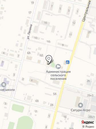 Омский сельский дом культуры на карте