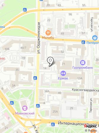 Лэндэл на карте