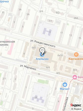Стиляжки на карте