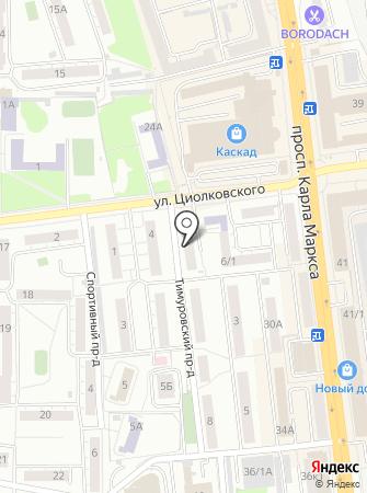 Главное Управление МЧС России по Омской области на карте