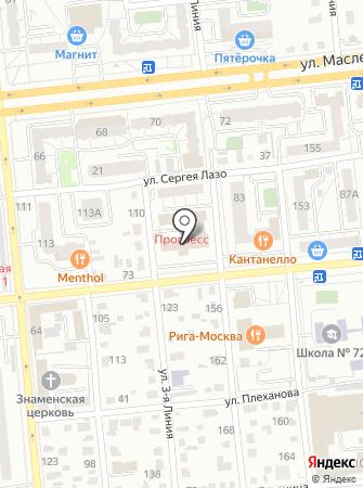 Управление противопожарной службы Омской области на карте