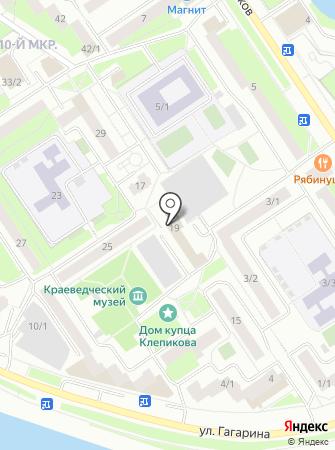 Управление ГО и ЧС г. Сургута на карте