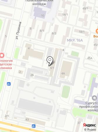Испытательный учебно-тренировочный полигон 1 ОФПС на карте