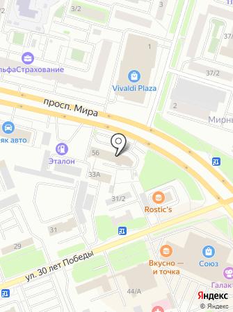 АвтоИдея на карте