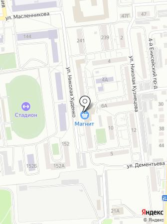 Ноготэль на карте