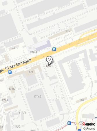 Аварийно-диспетчерская служба наружного освещения на карте