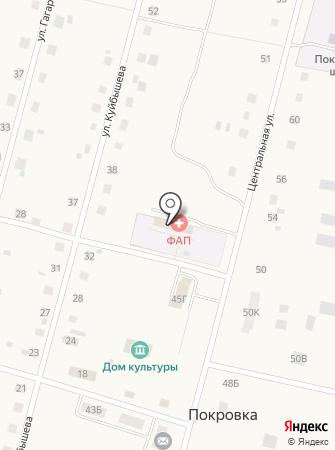 Покровский фельдшерско-акушерский пункт на карте