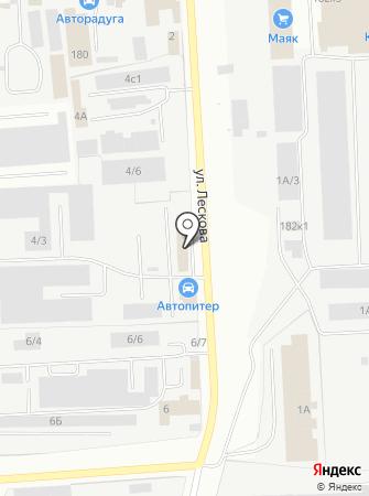 Альтек на карте