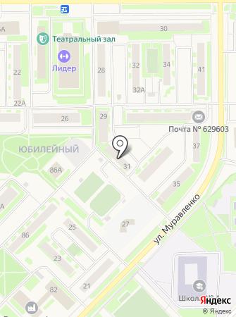 Управление пенсионного фонда РФ в г. Муравленко на карте