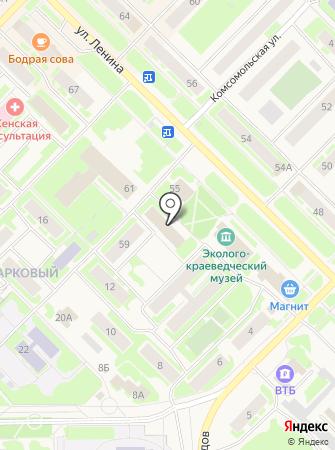 Отдел судебных приставов по г. Муравленко на карте