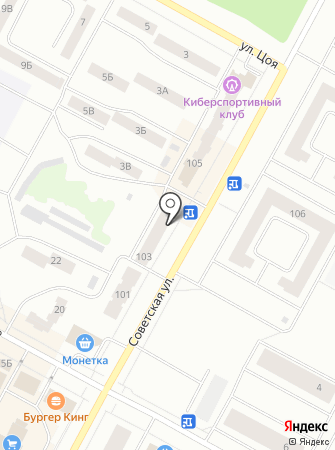 Район на карте