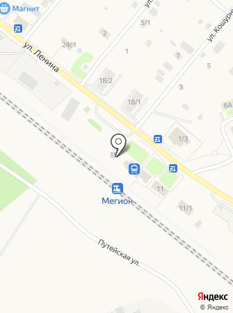 Горянка на карте
