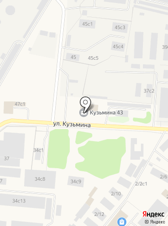 Юридический центр помощи на карте