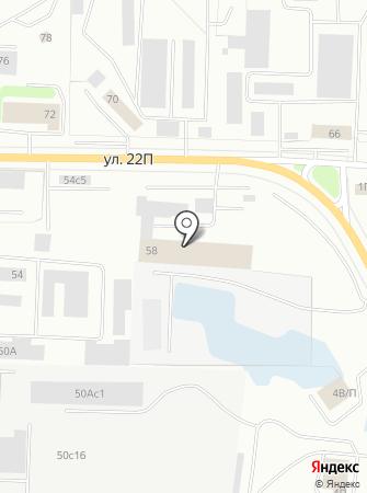 Нижневартовский автоцентр на карте