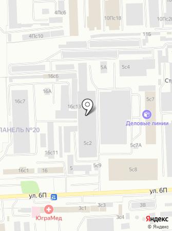 Кузов на карте
