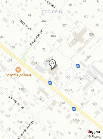 Буран-Шасси на карте